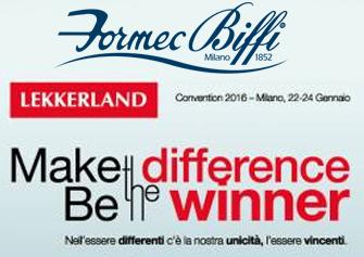 formec biffi premiata alla convention Lekkerland