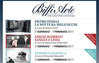 Le Mostre in Biffi Arte per il Primo semestre 2017