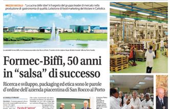 Formec Biffi celebrata per i suoi 50 anni