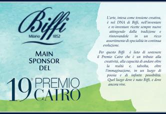 Biffi main sponsor of Premio Cairo 2018
