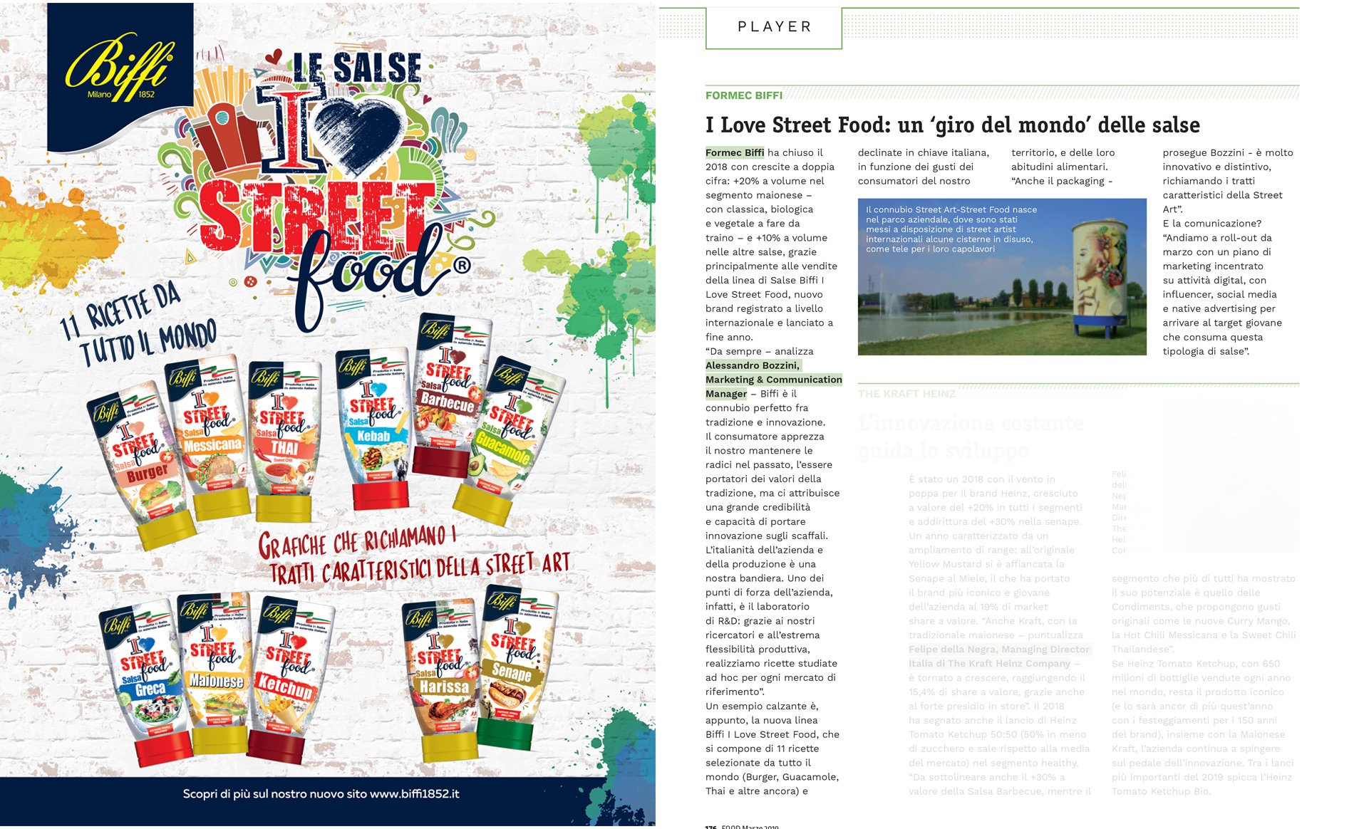 Formec Biffi Interview on Food of March -. Dossier Sauces
